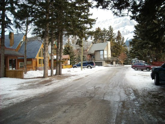 Rocky Mountain B&B : La rue du BB