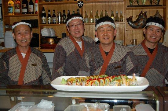 Yoko Sushi Bar: Sushi chefs