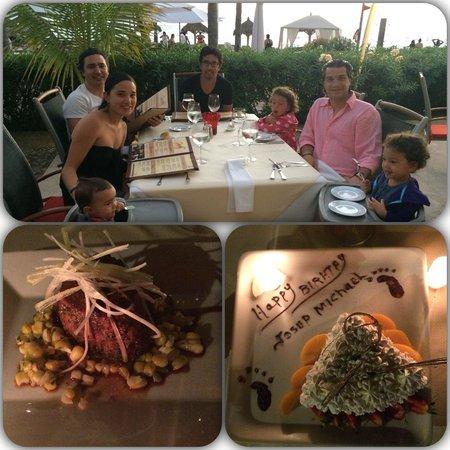 Las Gaviotas: Perfect bday dinner setting with family!