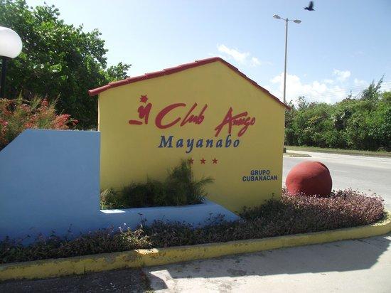 Club Amigo Mayanabo: entrer