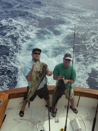 First Choice Charters, Deep Sea Fishing: 45 lb+ dolphins
