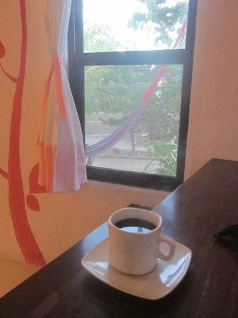 Villa los Mangles: coffee before the kids get up