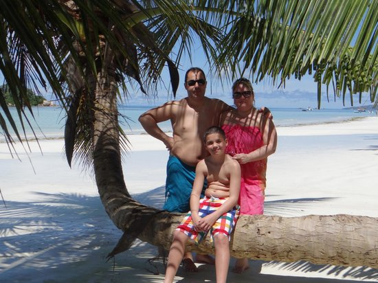 Le Duc de Praslin: En famille sur la plage paradisiaque