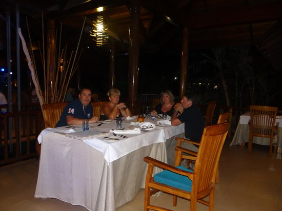 Le Duc de Praslin: Délicieux repas variés