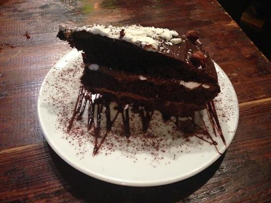La Cereria: Tarta de chocolate y Dulce de Leche