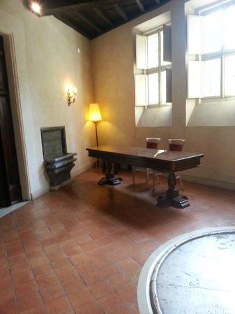 VOI Donna Camilla Savelli Hotel : L'ingresso alla sala delle riunioni