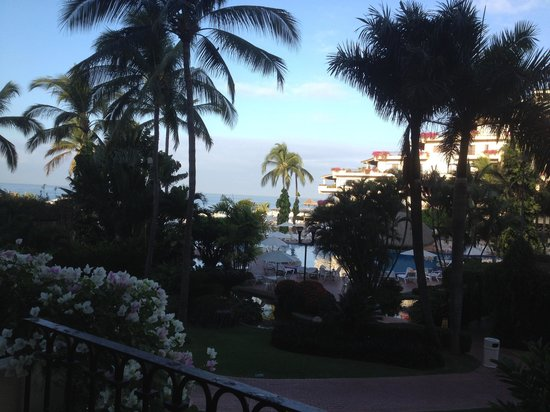 Velas Vallarta: Early morning from the deck