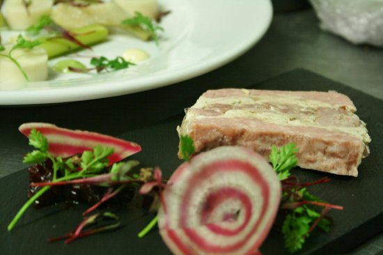 The Barn Cafe Bistro: Game terrine