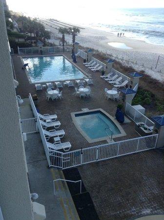 Holiday Inn Club Vacations Panama City Beach Resort: Pool, hot tub area