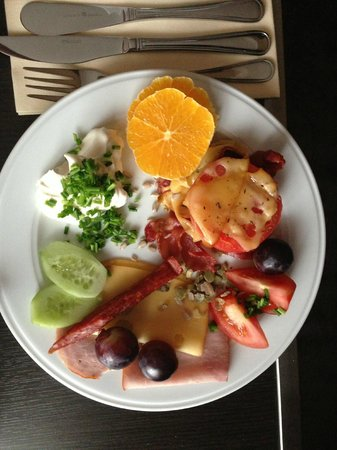 Mercure Wroclaw Centrum: sniadanie do pokoju