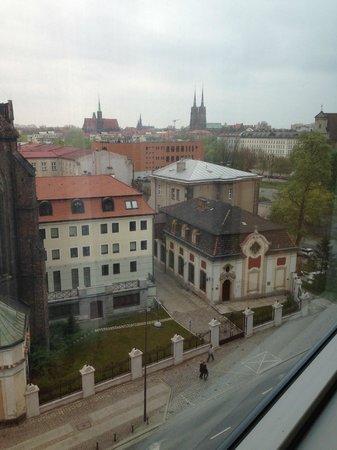 Mercure Wroclaw Centrum: widok z okna