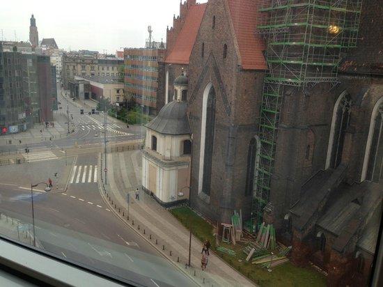 Mercure Wroclaw Centrum: widok