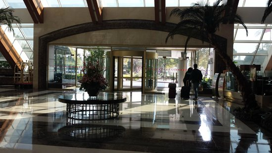 Ramada Pudong Airport Shanghai: Hotel entrance area