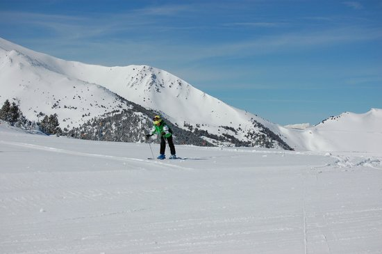 Vallnord Ski Area, Sector Arinsal : Спускаемся вниз