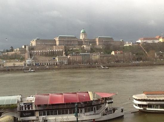 InterContinental Budapest: the view from our hotel room.