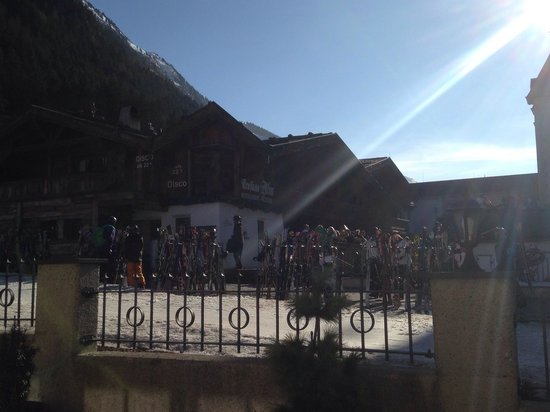 Seespitz: View from the sunny terrasse!