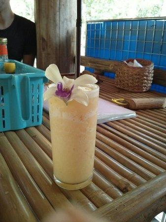 Khao Sok Cabana Resort: Shakes im Hotel Restaurant