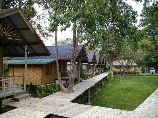 Khao Sok Cabana Resort: Gesamtes Resort