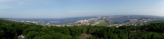 Enger Park and Tower: Duluth and Lake Superior