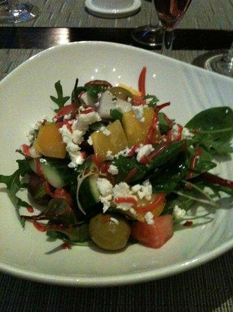Tiger Green Brasserie: Watermelon and Feta salad
