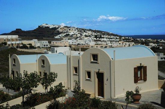 Santorini Mesotopos: View to caldera