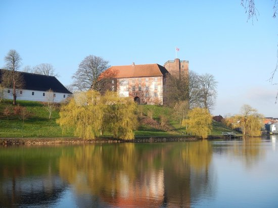 Koldinghus og søen