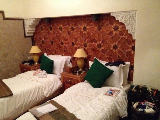 Riad Jonan: Our new ground floor room