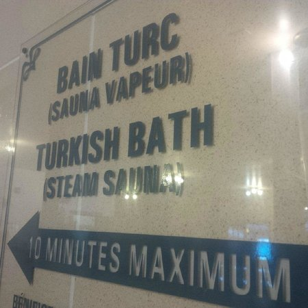 Centre de sante Euro-spa : bain turc