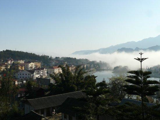 Victoria Sapa Resort and Spa : View over Sa Pa