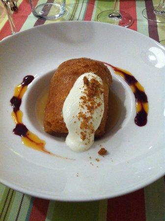 Restaurant Le Cise: Baba ivre de rhum ..... Hummmm