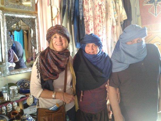 Dar Charkia: then we went to the desert