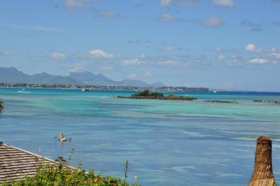 Canonnier Beachcomber Golf Resort & Spa: depuis le centre de plongée de l'hôtel