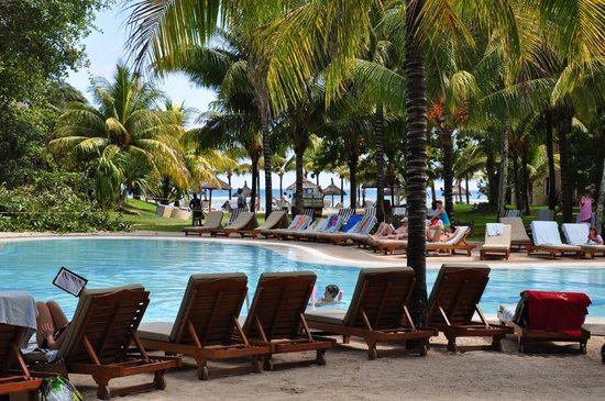 Canonnier Beachcomber Golf Resort & Spa : la piscine