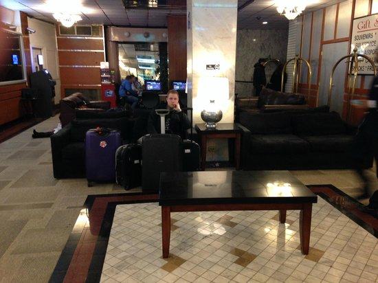 Hotel Carter : lobby do hotel