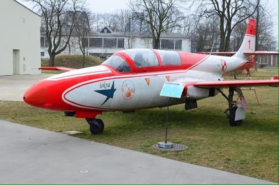 Polish Aviation Museum: Air display.