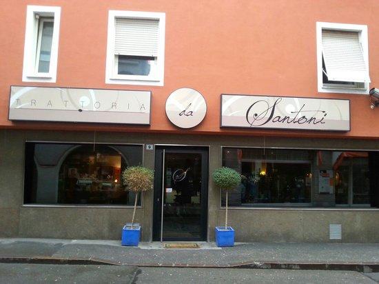 Trattoria da Santoni: Il ristorante