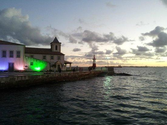 Ponta de Humaita: Anoitecendo