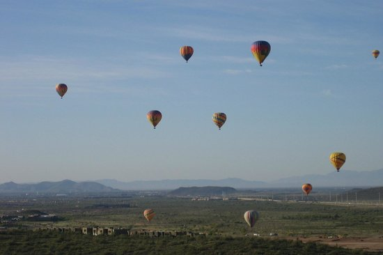 Hot Air Expeditions: Ballooning, North of Phoenix