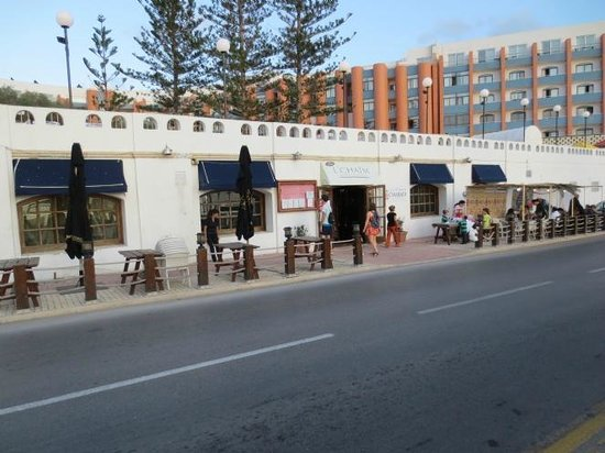 L'Chaim Kosher Restaurant: View from the street