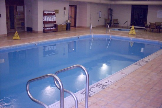 Holiday Inn Rapid City - Rushmore Plaza : Indoor pool & spa