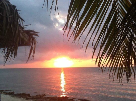 Lime Tree Bay Resort : Beautiful sunset