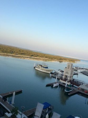 Jannah Eastern Mangroves Suites: view from my room