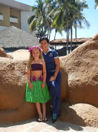 El Cid El Moro Beach Hotel: Leticia with Kid's Club