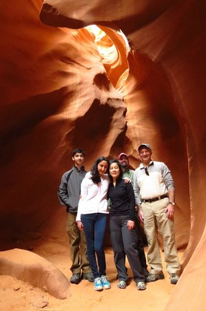 All-Star Grand Canyon Tours: Antelope canyon