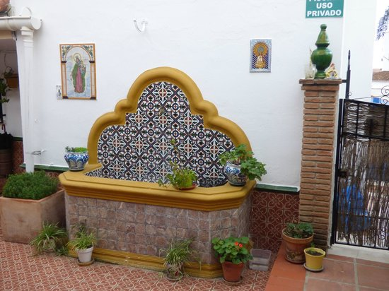 Hostal Casa Mercedes: Binnenplaats