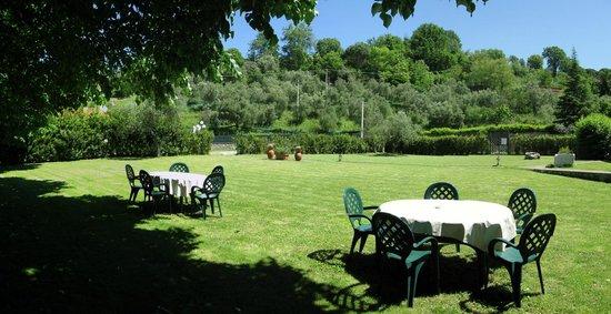 Agriturismo La Maesta: L'ampio Giardino