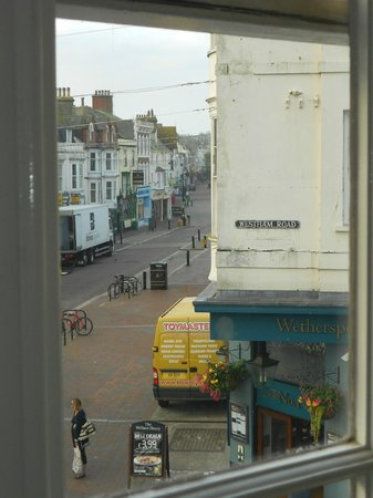 B+B Weymouth: Side view from lounge