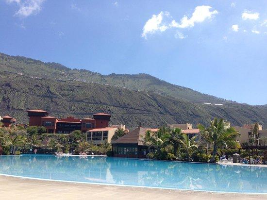 La Palma Princess & Teneguia Princess: Veiw from pools