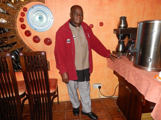 Ngorongoro Wildlife Lodge : Dining Room Staff Member