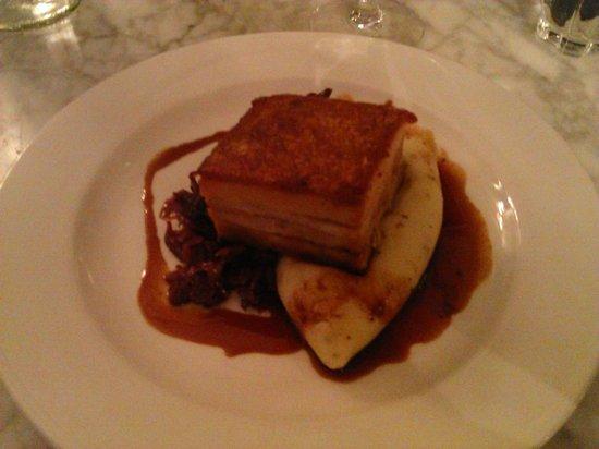 Kettners : Pork belly